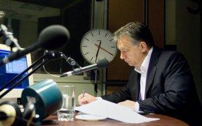 Orbán: Nem szólhat bele senki a magyar jogalkotásba