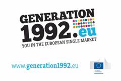 """""""Az 1992-es generáció"""" – pályázat az egységes piac létrejöttének 20. évfordulója alkalmából"""