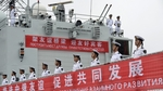 Kínai és Orosz közös hadgyakorlat