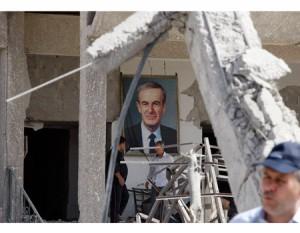 A szíriai lázadók lelőttek vasárnap egy helikoptert Aleppó tartományban.
