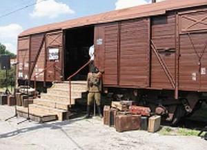 Vagonkiállítás nyílt Kassán