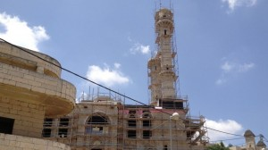 Islam no longer a footnote in Abu Ghosh, as its vast mosque nears completion