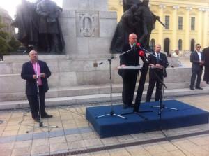 Ilan Mor:Mi vagyunk az áldozat! Békét a világnak, békét Izraelnek!