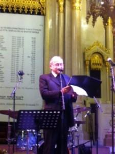 Fischer Ádám karmester a Zsidó Nyári Fesztivál vasárnap esti megnyitóján,