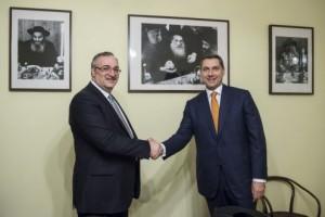 Lázár János találkozott Deblinger Eduarddal a MAOIH elnökével