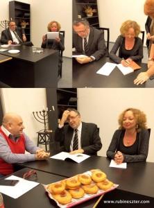 Rubin Eszter: Bagel részlet 2016. január 1-i Halljad Izrael! adásában elhangzott