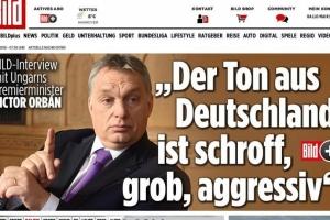 Orbán Viktor interjúja a BILD című német napilapnak