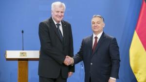 Orbán Viktor sajtónyilatkozata Horst Seehoferrel, folytatott tárgyalást követően