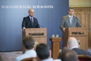 A Miniszterelnökséget vezető miniszter az az 51. Kormányinfón