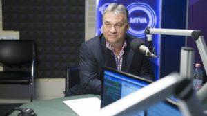 """Orbán Viktor a Kossuth Rádió """"180 perc"""" című műsorában"""
