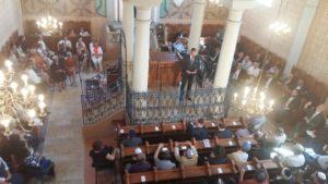 Átadták a megújult Mádi Rabbiházat