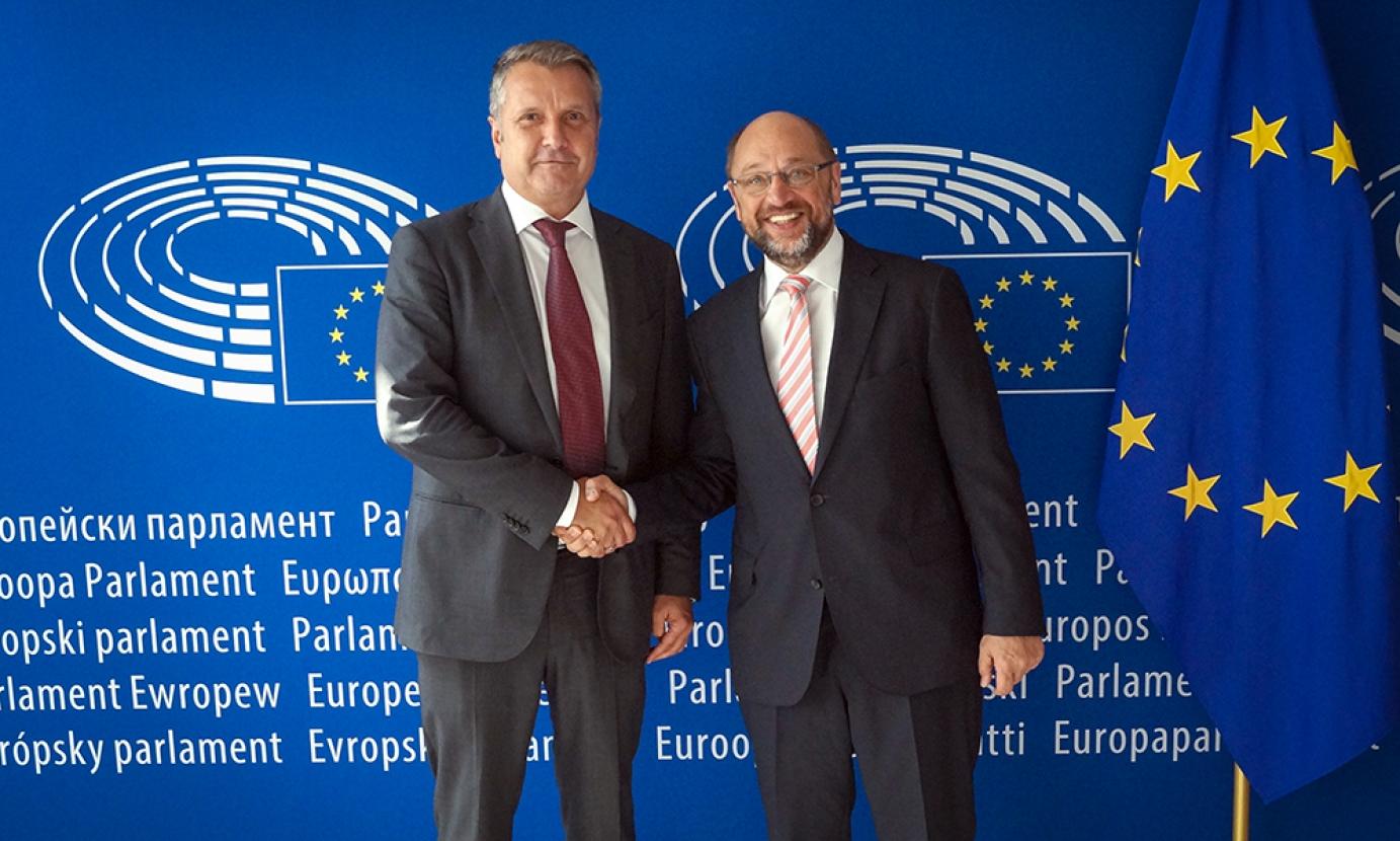 Schulz: az Európai Uniónak egy erős Magyarországra van szüksége