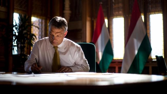 Orbán Viktor miniszterelnök a Lokálnak.