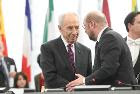 President Schulz expresses his condolences after the passing of Shimon Peres
