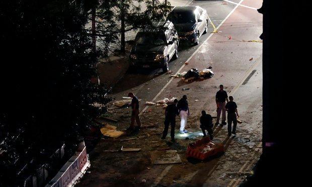 Robbanás Manhattanben terrorakció történt
