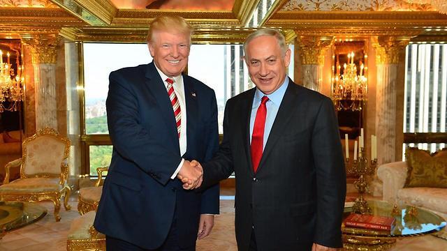 Trump Jeruzsálem fővárosként való elismerését ígérte az izraeli kormányfőnek