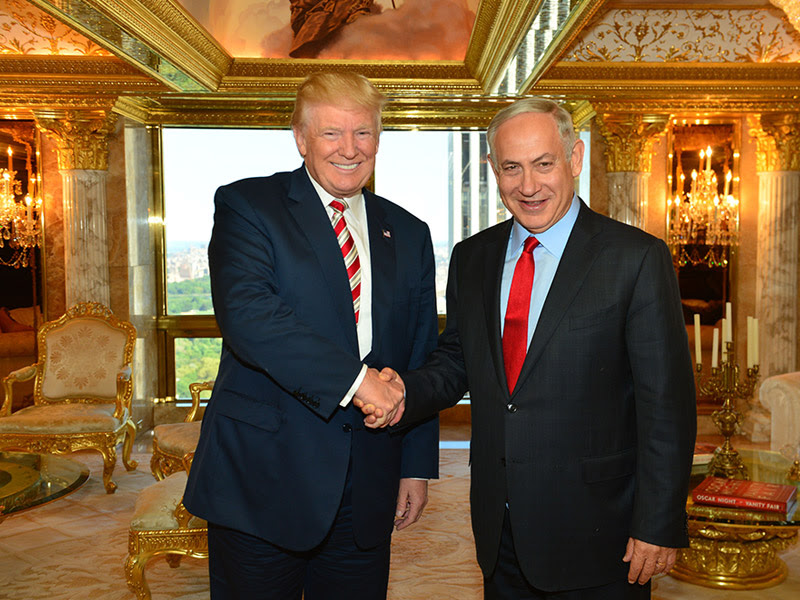 PM Netanyahu meets with US presidential candidates