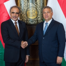 Orbán Viktor fogadta Mohammed bin Hamad Al Rumhit, az Ománi Szultánság olaj- és gázügyi miniszterét