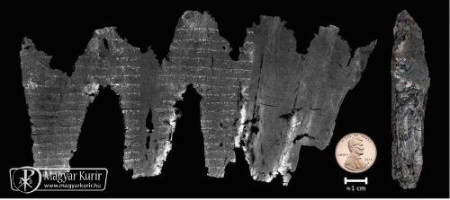 Olvashatóvá vált az Ótestamentum legrégebbi ismert leiratának részlete