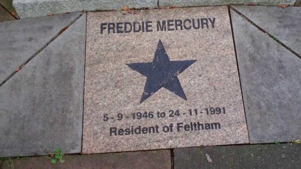 Freddie Mercury emléktáblát kapott