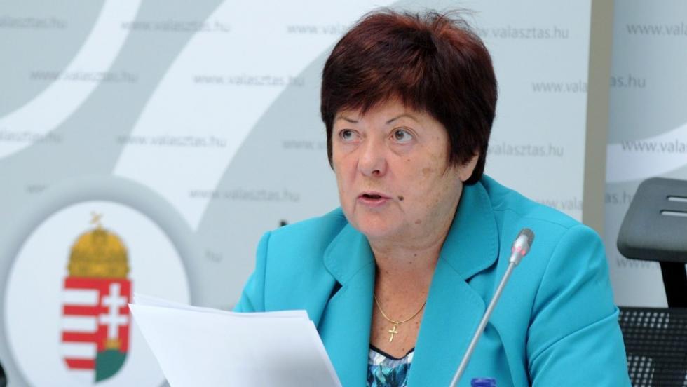 Pálffy Ilona hétfői, budapesti sajtótájékoztatóján