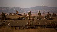 Negyedóra különbséggel két gránát is becsapódott a Golán-fennsík északi részén.