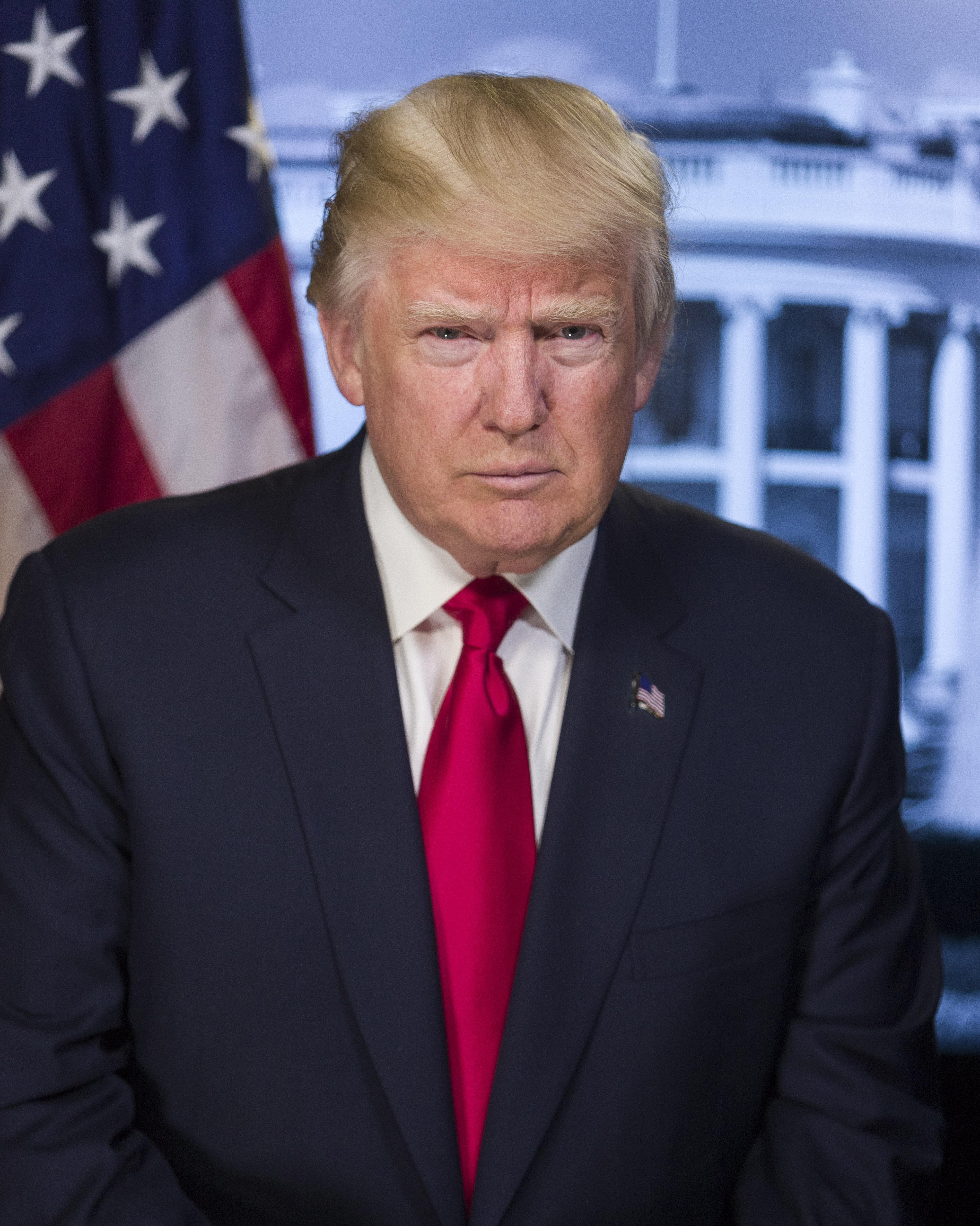 Az USA 45. elnöke Donald J. Trump