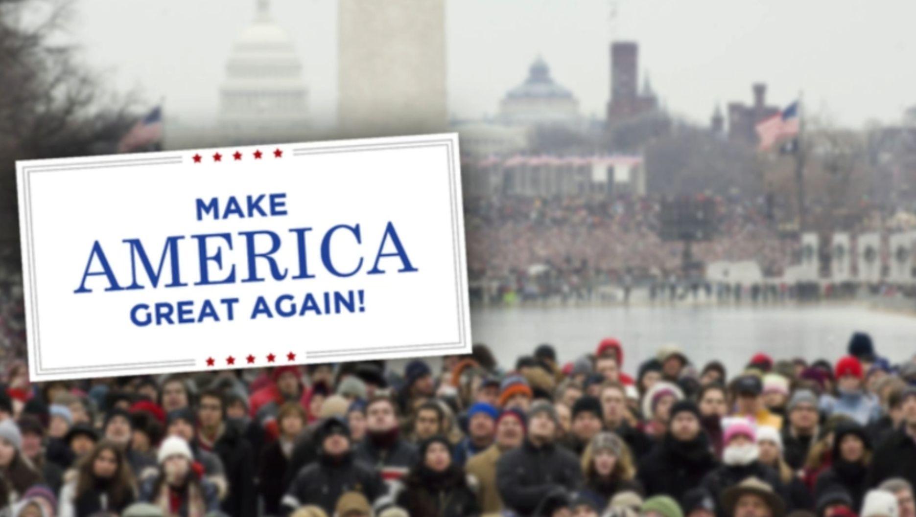 Tudósítás az USA 45. elnöke, Donald J. Trump beiktatásáról