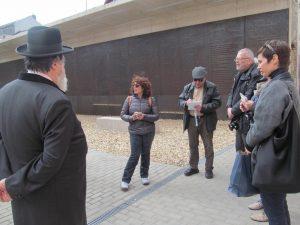Izraeli újságírók a Debreceni Hitközségen