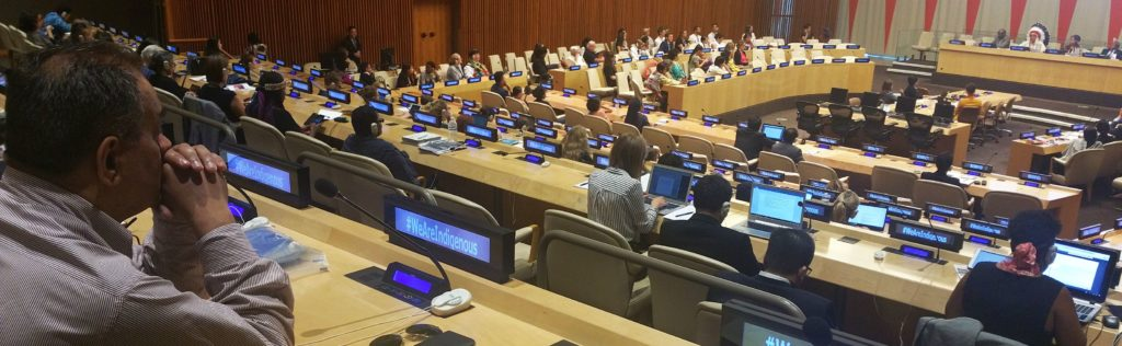 Tíz évvel az Egyesült Nemzeteknek, az Őslakos Népek Jogait meghatározó Nyilatkozatának elfogadása után 2017 augusztus 9-én a világ minden tájáról összegyűlt küldöttek, és különböző népek képviselői az őslakosok, a bennszülött népek jogairól tanácskoztak.