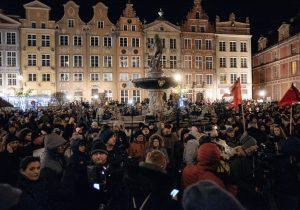 """""""Egy igazi filoszemita és Izrael """" volt a meggyilkolt gdanski polgármester"""