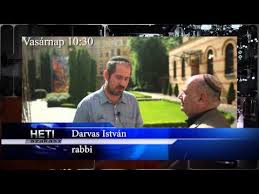 Darvas István főrabbi a hetiszakaszról beszélt.